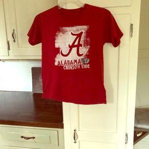 2 Alabama T-shirt's Big kids Large